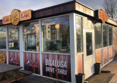 Gluggamerkingar fyrir Braga Bát