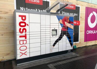Prentun á póstbox Póstsins