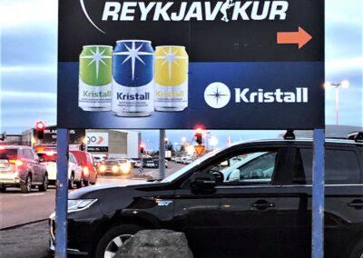 Álskilti fyrir Skvassfélag Reykjavíkur Stórhöfða